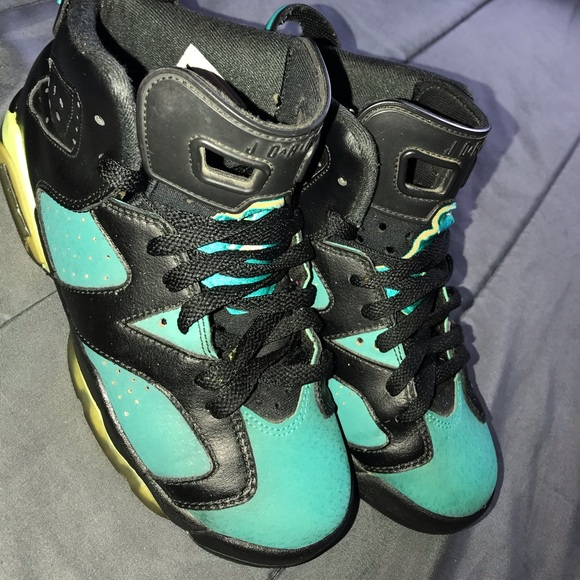 Jordan Shoes | Green Black 6s | Poshmark